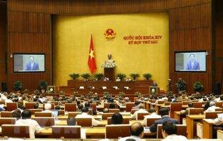 Quốc hội thông qua danh sách 48 người được lấy phiếu tín nhiệm