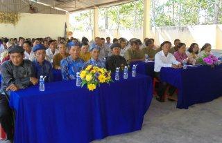 Ấp Thạnh Trị Thượng tổ chức Ngày hội đại đoàn kết toàn dân tộc