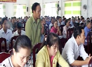 Diễn đàn đối thoại chính sách bảo hiểm xã hội, bảo hiểm y tế năm 2018 tại huyện Thạnh Phú