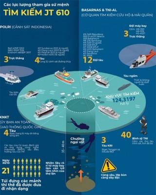 Indonesia tìm thấy thân máy bay bị rơi, có thể cả hộp đen