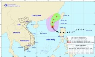 Bão số 7 suy yếu thành áp thấp nhiệt đới