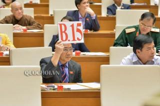 Đại biểu Quốc hội đơn vị tỉnh Bến Tre chất vấn một số Bộ trưởng