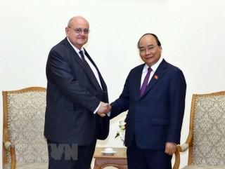 Thủ tướng Nguyễn Xuân Phúc tiếp Đại sứ Brazil chào từ biệt