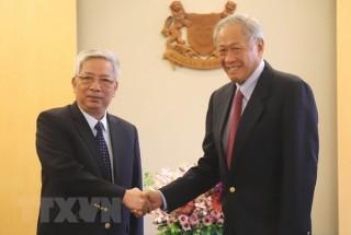Đẩy mạnh hợp tác quốc phòng Việt Nam - Singapore trên nhiều lĩnh vực