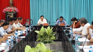 Đoàn khảo sát Tỉnh ủy làm việc với Đảng ủy Khối các Cơ quan và Đảng ủy Khối Doanh nghiệp