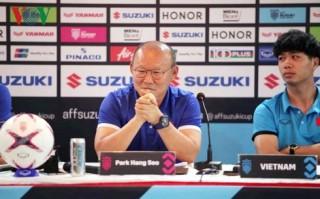 AFF Cup 2018: HLV Park Hang Seo quyết tâm chiến thắng ĐT Myanmar