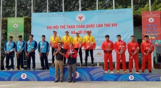 Bến Tre giành thêm huy chương vàng ở bộ môn Canoeing