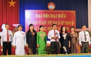Đại hội đại biểu MTTQ Việt Nam xã Mỹ Thạnh An, TP. Bến Tre nhiệm kỳ 2019 - 2024