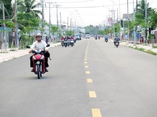 TP. Bến Tre có 32/59 tuyến đường được công nhận văn minh đô thị