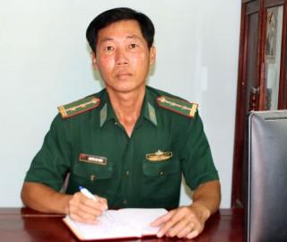 Trung tá Nguyễn Văn Thịnh luôn gắn bó, nhiệt tình với nhân dân