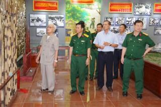 Nhà Truyền thống lực lượng vũ trang tỉnh: Nơi giáo dục truyền thống cách mạng cho thế hệ trẻ