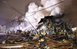 Nổ lớn tại nhà hàng Nhật Bản, hơn 40 người bị thương