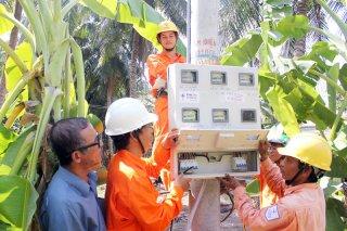 99,9% hộ dân có điện sử dụng