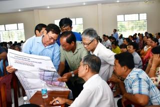 Thông tin, đối thoại với người dân nằm trong Dự án Khu công nghiệp Phú Thuận
