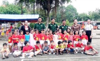 Giao lưu kỷ niệm 74 năm Ngày thành lập Quân đội nhân dân Việt Nam 22-12