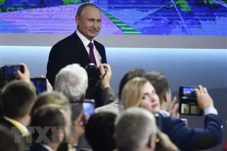 Tổng thống Vladimir Putin: Quan hệ Nga - Anh đã đi vào ngõ cụt