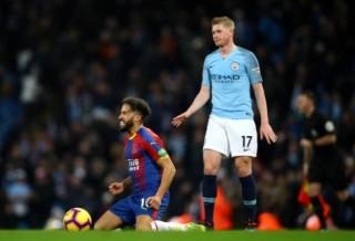 Kevin De Bruyne toả sáng, Man City vẫn thua sốc trước Crystal Palace