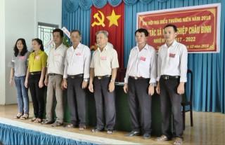 Đại hội thường niên Hợp tác xã nông nghiệp Châu Bình