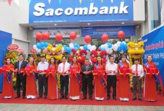Sacombank khai trương Chi nhánh Thạnh Phú