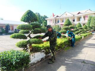 Lực lượng vũ trang huyện Ba Tri: Xây dựng đơn vị nền nếp, chính quy, vững mạnh toàn diện
