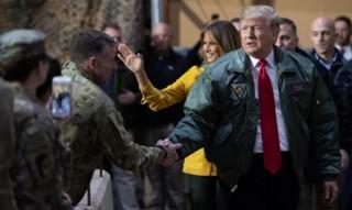 Nhiều vụ nổ gần Đại sứ quán Mỹ tại Iraq khi ông Donald Trump sang thăm