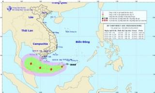Áp thấp nhiệt đới mạnh lên thành bão số 1, năm 2019