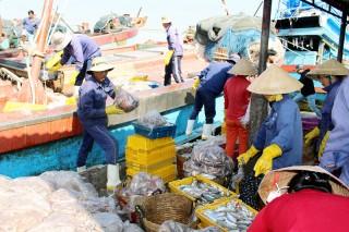 Bình Thắng đánh bắt trên 60 ngàn tấn thủy sản