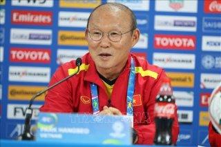 Asian Cup 2019: HLV Park Hang -seo khẳng định có đấu pháp hợp lý trước Jordan