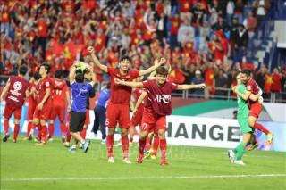 Thủ tướng Nguyễn Xuân Phúc biểu dương chiến thắng của Đội tuyển Việt Nam tại vòng 1/8 Asian Cup 2019