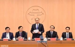 Thủ tướng chủ trì họp về Đề án chính quyền đô thị Hà Nội