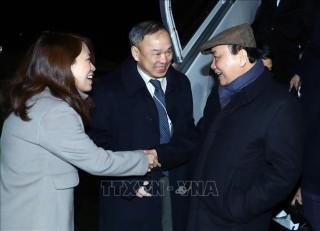 Thủ tướng Nguyễn Xuân Phúc tới Thụy Sĩ, bắt đầu dự WEF Davos 2019