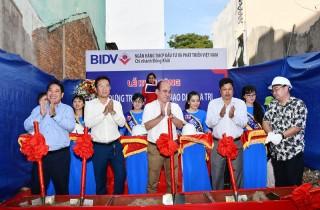 BIDV Chi nhánh Đồng Khởi khởi công xây dựng Phòng giao dịch Ba Tri