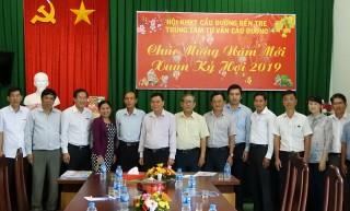 Bí thư Tỉnh ủy Võ Thành Hạo thăm, chúc Tết Câu lạc bộ Hưu trí, Hội Khoa học kỹ thuật cầu đường tỉnh