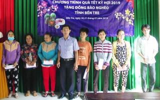 BIDV trao tặng 370 suất quà Tết cho người nghèo bị ảnh hưởng thiên tai