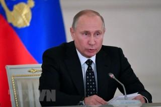Tổng thống Nga đọc Thông điệp liên bang vào ngày 20-2-2019 tới