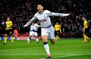 Son Heung-min giúp Tottenham đại thắng Dortmund