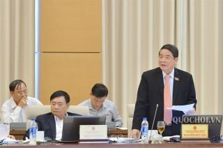Ủy ban thường vụ quốc hội thảo luận về các vấn đề còn ý kiến khác nhau của dự án Luật Quản lý thuế (sửa đổi)