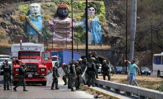 Venezuela đóng cửa biên giới với Brazil để ngăn chặn viện trợ
