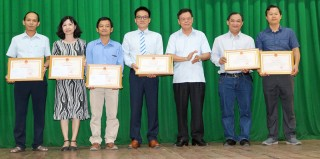 Bệnh viện Nguyễn Đình Chiểu họp mặt kỷ niệm 64 năm Ngày Thầy thuốc Việt Nam