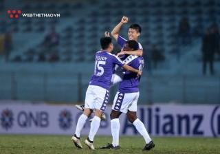 Hà Nội FC thắng Nagaworld FC lịch sử AFC Cup 10-0