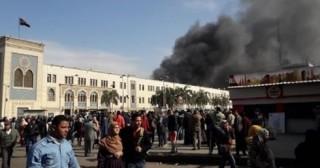 Ai Cập cháy tàu, hàng chục người thương vong