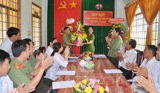 Bệnh xá Công an tỉnh họp mặt kỷ niệm 64 năm Ngày Thầy thuốc Việt Nam