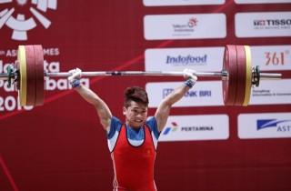Á quân Asiad 2018 Trịnh Văn Vinh dương tính với doping