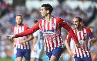 Morata lập cú đúp, Atletico bỏ xa Real trên bảng xếp hạng
