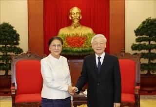 Tăng cường hợp tác giữa Quốc hội hai nước Việt - Lào