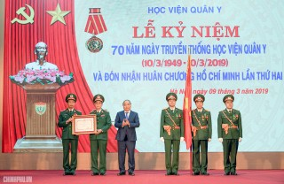 Thủ tướng: Học viện Quân Y cần sớm đạt tiêu chí trường trọng điểm quốc gia