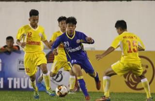 Vòng chung kết U19 Quốc gia 2019: Thủ môn U19 Phú Yên bắt bóng không dính, U19 Hà Nội giành chiến thắng