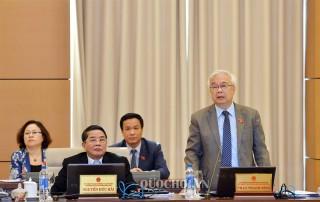 Ủy ban Thường vụ Quốc hội thảo luận về dự án Luật Giáo dục (sửa đổi)
