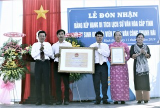 Nơi hy sinh Đoàn Văn công Thanh Hải được xếp di tích lịch sử văn hóa cấp tỉnh