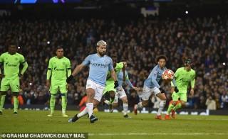Vòng 1/8 Champions League: Man City hủy diệt Schalke 7-0